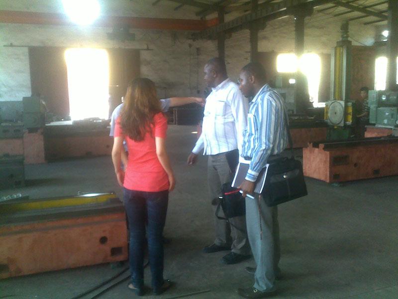 尼日利亚客商来我公司订购端面电竞竞博